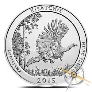 2015 ATB 5 oz Kisatchie National Forest Louisiana WITH NEW Air-Tite Holder