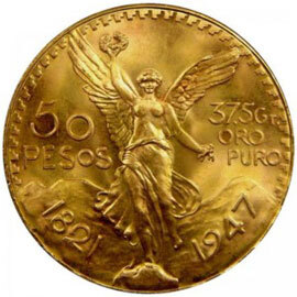 Mexican Gold Peso Coins Facts Coin