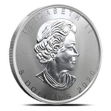 2020 Canadian 1 Oz Silver Maple Leaf Coin Provident