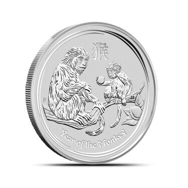 Half Oz Silver Year Of The Monkey Perth Provident Metals