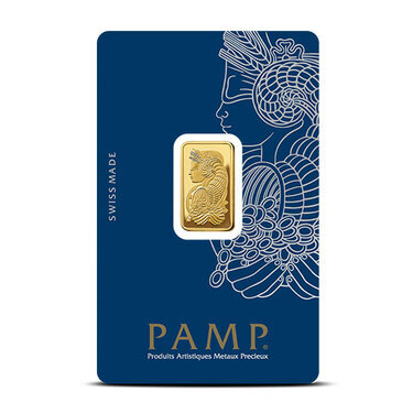 5 Gram Gold Fortuna Veriscan Bar Pamp