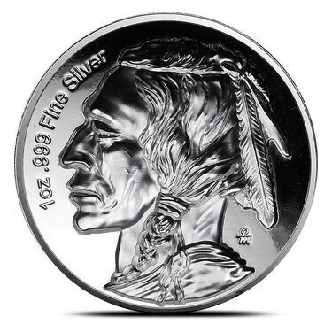 American Legacy Collection Buffalo Nickel 1 oz Silver Proof Capsuled W//COA