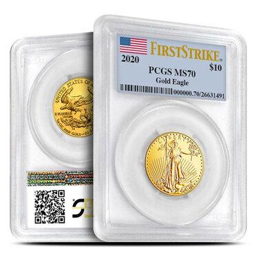QTY 10-1//4 OZ US MINT GOLD//PLATINUM AMERICAN EAGLE /& BUFFALO COIN CAPSULES