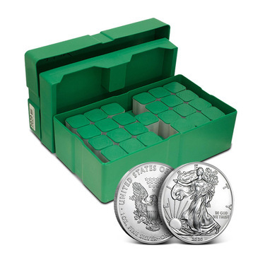 American Eagle 1 Oz Silver Monster Box