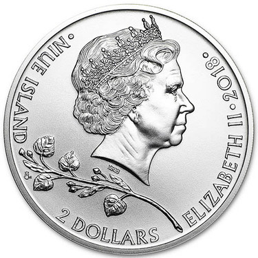 2017 NIUE AFRICAN LION $2 1oz .999 SILVER NEW ZEALAND MINT PCGS MS69