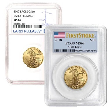 ~12 Direct Fit 27mm Coin Capsule For US 1//2 oz American Eagle $25 Gold