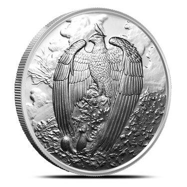 THE GREAT EAGLE  1 oz Copper Round coin  5th  in Series   NORDIC CREATURES