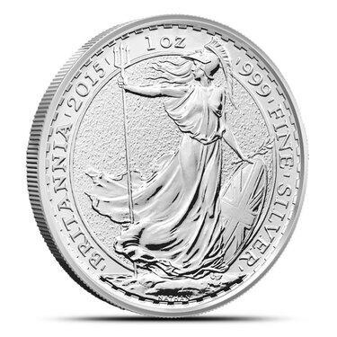 2015 Royal Mint British 1oz Lunar Sheep £2 Two Pound .999 Silver coin