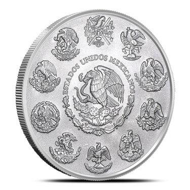 2018 5 oz Silver Brilliant Uncirculated Coin  BU ***SALE*** LIBERTAD MEXICO