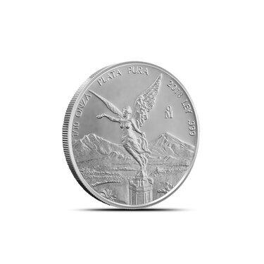 2018 1//10 oz Mexican Silver Libertad