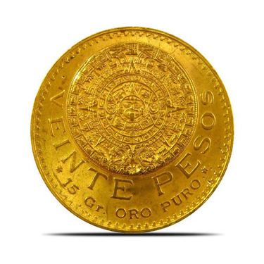 Mexico 20 Peso Gold Coins Provident