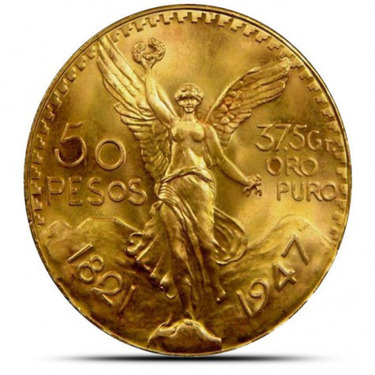 Mexico 50 Peso Gold Coins Provident
