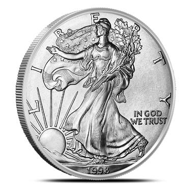 1998 American Silver Eagle Brilliant Uncirculated