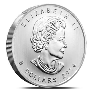 .9999 Canadian Mint 2014 Silver Arctic Fox 1.5 oz