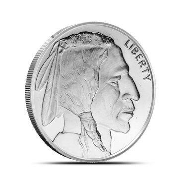 1//2 oz MERCURY HEAD DIME  Design  Copper Round  Coin   GSM