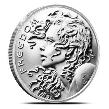 2019 Freedom Girl Silver Shield Silver Round Coin 1 oz .999 Fine Silver IN-STOCK