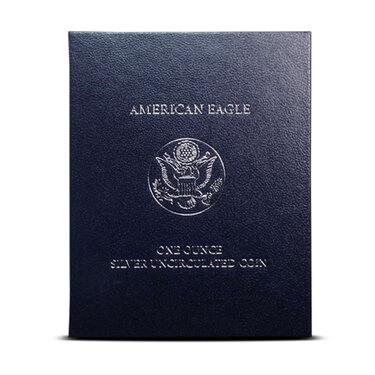2011-W American Eagle Silver Burnished in Box