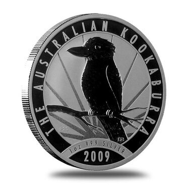 2009 AUSTRALIAN SILVER KOOKABURRA 1 OZ BU