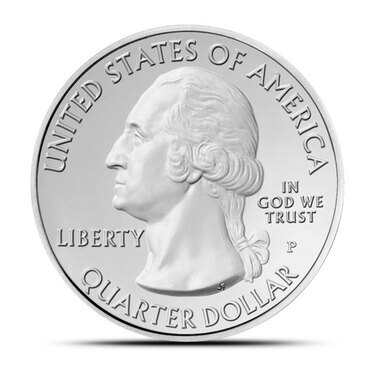 """2013 P Fort McHenry National Park Quarter Maryland /""""Brilliant Uncirculated/"""" ATB"""