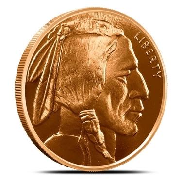 BIG 5oz Coin • BUFFALO NICKEL Design • Copper Bullion