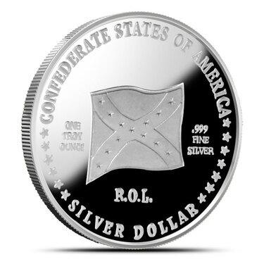 "5 Rounds Civil War /""The General/"" 1 oz .999 Copper Round Civil War Collection"